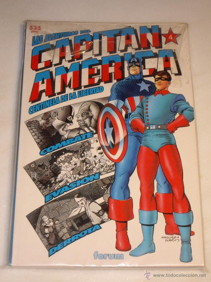 Cómics: las aventuras del capitan america. nº 1 al 4. Completa. Forum. Excelente estado. - Foto 2 - 47934054