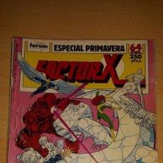 Cómics: FACTOR X VOL. 1 ESPECIAL PRIMAVERA '89 - BUEN ESTADO FORUM. Lote 141469973