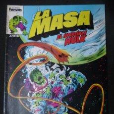 Cómics: LA MASA. Nº 8. VOL 1. FORUM. Lote 47946297