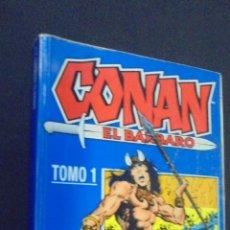 Cómics: CONAN EL BARBARO - TOMO 1 - RETAPADO - CONTIENE LOS NUM. 1 AL 10 - FORUM. . Lote 47972447