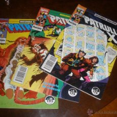 Cómics: TEBEOS COMICS PATRULLA X SEGUNDA EDICION AÑO 1992 Nº 2-3-4-5 Y 38. Lote 47994139