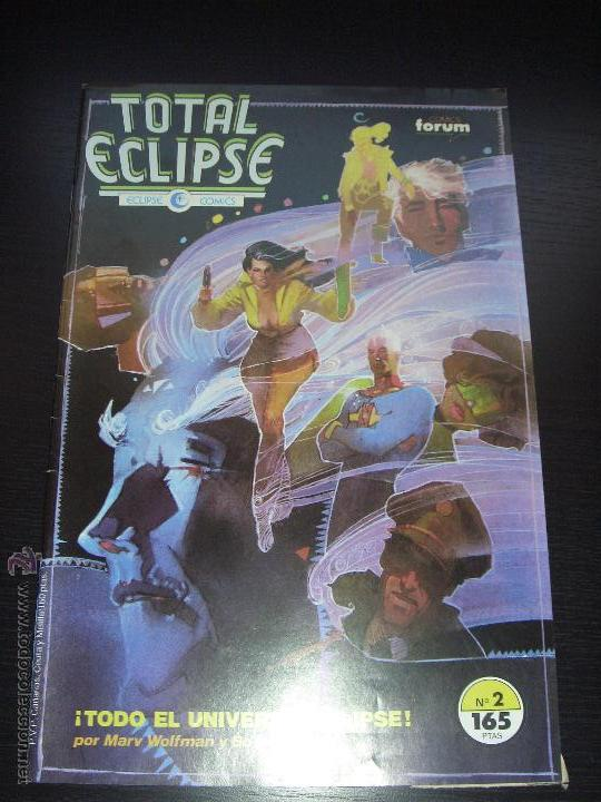 TOTAL ECLIPSE - Nº 2 - FORUM / ECLIPSE COMICS (Tebeos y Comics - Forum - Otros Forum)