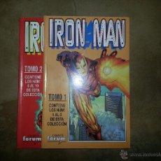 Cómics: IRON MAN 1 A 10 EN DOS RETAPADOS. Lote 48152412