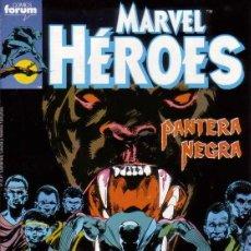 Cómics: SAGA COMPLETA - MARVEL HEROES VOL.1 # 43 AL 46 (FORUM,1990) - PANTERA NEGRA. Lote 48166638
