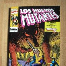 Cómics: LOS NUEVOS MUTANTES VOL.1 FORUM Nº 61 CON INDICE PATRULLA X - POSIBILIDAD ENTREGA EN MANO EN MADRID. Lote 48203660