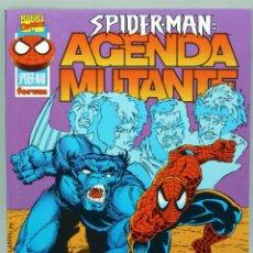 Cómics: SPIDERMAN AGENDA MUTANTE MARVEL CÓMICS FORUM 15 AÑOS 1998. Lote 48251754