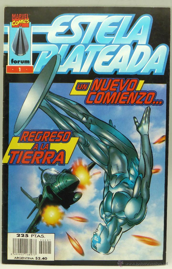 ESTELA PLATEADA NUEVO COMIENZO REGRESO A LA TIERRA Nº 1 MARVEL CÓMICS FORUM 1998 (Tebeos y Comics - Forum - Silver Surfer)
