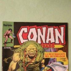 Cómics: COLECCION CONAN EL BARBARO Nº 136. IMPECABLE . . Lote 48313845