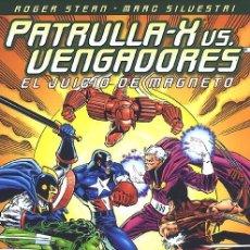 Cómics: TOMO PATRULLA-X VS. VENGADORES EL JUICIO DE MAGNETO FORUM ROGER STERN MARC SILVESTRI. Lote 48328645