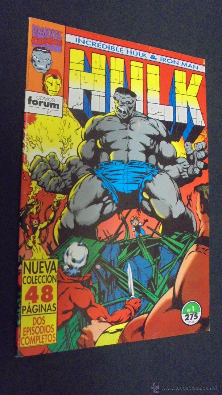 INCREDIBLE HULK & IRON MAN - Nº 1 - FORUM . (Tebeos y Comics - Forum - Hulk)