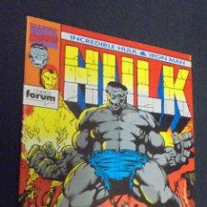 Cómics: INCREDIBLE HULK & IRON MAN - Nº 1 - FORUM .. Lote 48345545