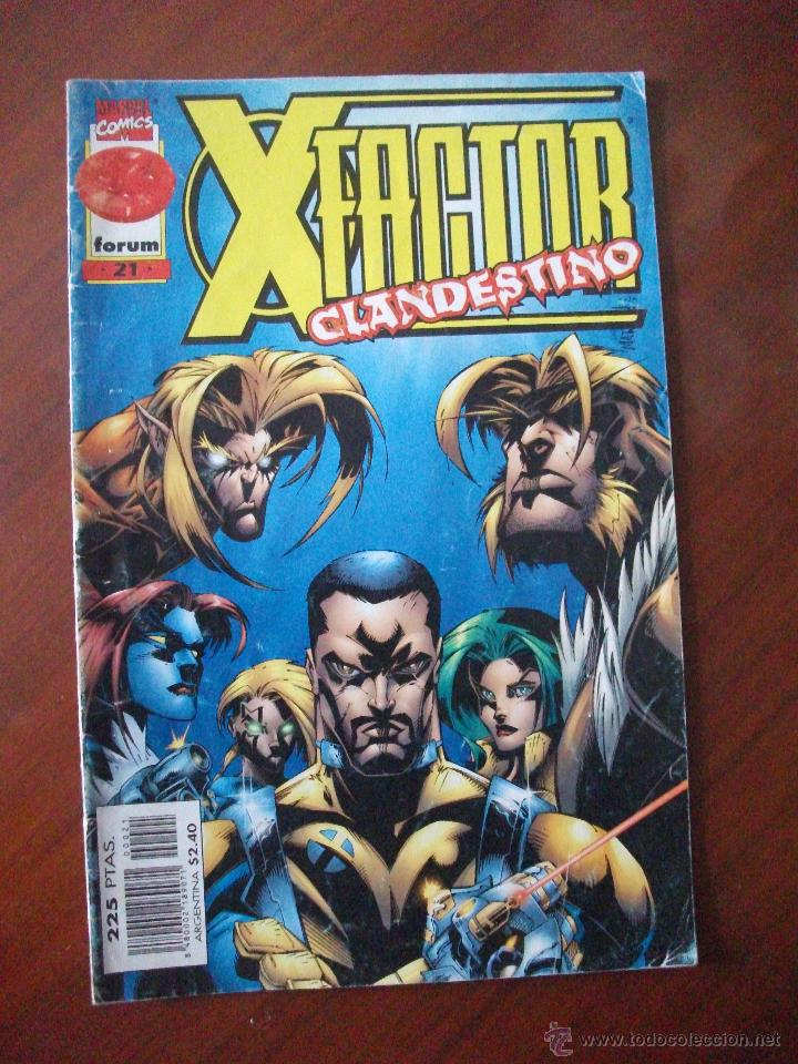 X FACTOR Nº 21 FORUM C3 (Tebeos y Comics - Forum - Factor X)