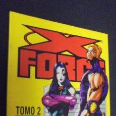 Cómics: X FORCE -TOMO 2 - RETAPADO - CONTIENE LOS NUMEROS 7 AL 11 - FORUM.. Lote 48396279