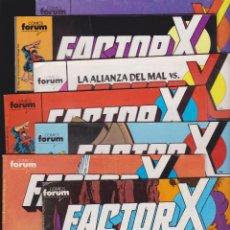 Cómics: FACTOR X , LOTE DE 93 EJEMPLARES - 1ª EDICIÓN FORUM . Lote 48405929