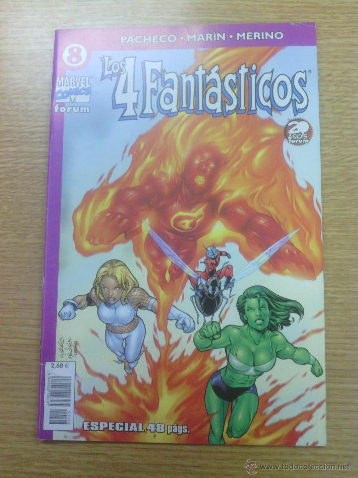 Cómics: 4 FANTASTICOS VOL 4 #8 - Foto 1 - 48462814