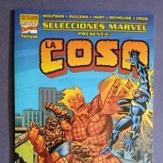 Cómics: SELECCIONES MARVEL ESPECIAL LA COSA (FORUM) - LA COSA, NOVA Y RAYO NEGRO - 2002. Lote 48483992