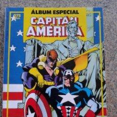 Cómics: CAPITAN AMERICA -- ALBUM ESPECIAL -- CON DOS NUMEROS EXTRAS -- FORUM --. Lote 48521947