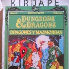 Comics - Dungeons & Dragons (Dragones y Mazmorras) número 4 - 48519369