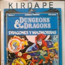 Comics - Dungeons & Dragons (Dragones y Mazmorras) número1 - 48523169