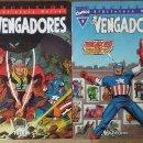 Cómics: EXCELCIOR LOS VENGADORES TOMOS 1,2,3,4. Lote 48680900