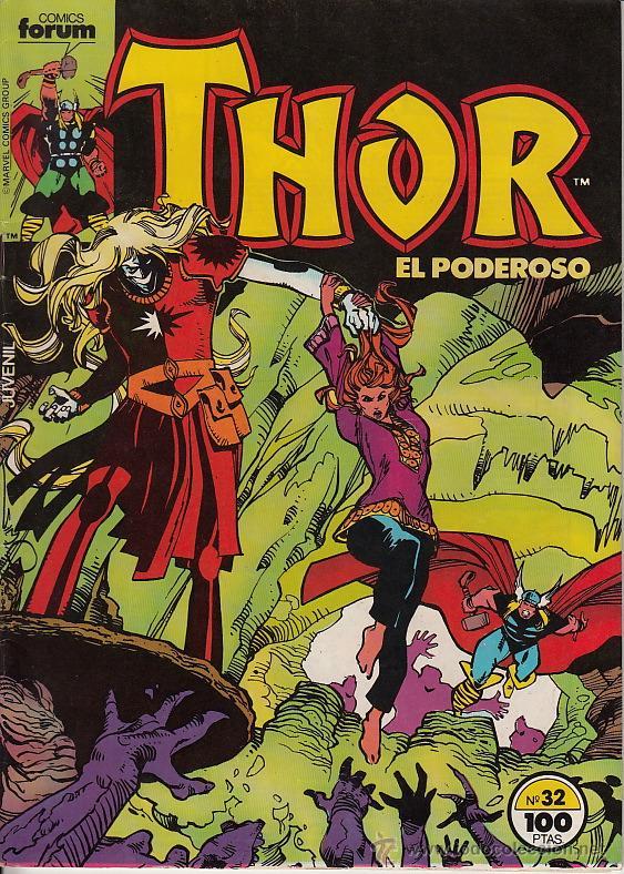 THOR VOL.1 # 32 (FORUM,1985) - WALTER SIMONSON (Tebeos y Comics - Forum - Thor)