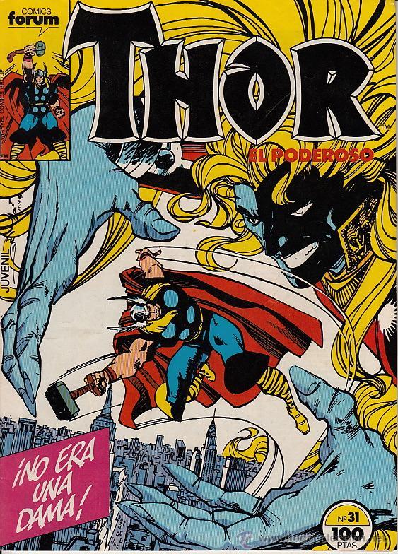 THOR VOL.1 # 31 (FORUM,1985) - WALTER SIMONSON (Tebeos y Comics - Forum - Thor)