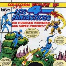 Cómics: WHAT IF VOL.1 Nº 14 - FORUM. ¿Y SI LOS 4 FANTÁSTICOS NO HUBIESEN OBTENIDO SUS SUPER-PODERES? BYRNE.. Lote 140962546