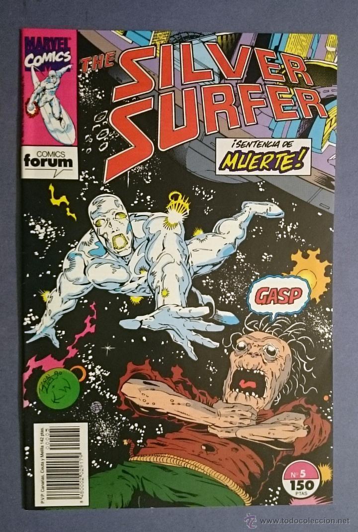 SILVER SURFER VOL. 2 # 5 (FORUM) - ESTELA PLATEADA - 1992 (Tebeos y Comics - Forum - Silver Surfer)