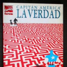 Cómics: CAPITAN AMERICA: LA VERDAD - TOMO FORUM. Lote 109026254