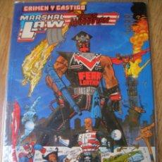 Cómics: MARSHAL LAW TAKES MANHATTAN - CRIMEN Y CASTIGO (PLANETA-FORUM EPIC COMICS 1992). Lote 48867402
