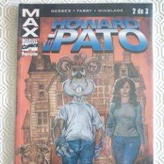 Cómics: MAX: HOWARD EL PATO TOMO 2 DE STEVE FERBER, PHIL WINSLADE. Lote 48887593