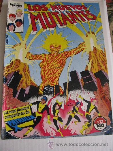LOS NUEVOS MUTANTES Nº12 (FORUM) LEER DESCRIPCION (Tebeos y Comics - Forum - Nuevos Mutantes)