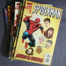 Cómics: SPIDERMAN VOL. 3 / VOL. 5 # 01-31 (FORUM) - COMPLETA - LOMO ROJO - 1995. Lote 49062677