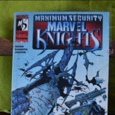 Cómics: MARVEL KNIGHTS FORUM MAXIMUM SECURITY Nº 6 PLANETA AÑO 2000 DINSON BARRETO JANSON. Lote 49124985