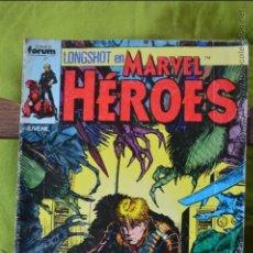 Cómics: MARVEL HEROES 17 - FORUM - LONGSHOT. Lote 49125031
