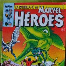 Cómics: PATRULLA X EN MARVEL HEROES 33 - FORUM - 1987. Lote 49125069