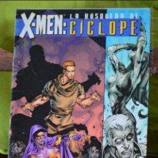 Cómics: X MEN - LA BUSQUEDA DE CICLOPE - FORUM - MARVEL. Lote 49125188