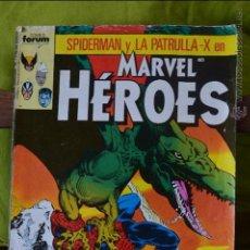 Cómics: SPIDERMAN Y LA PATRULLA X EN MARVEL HEROES 31 - FORUM - MARVEL. Lote 49125278