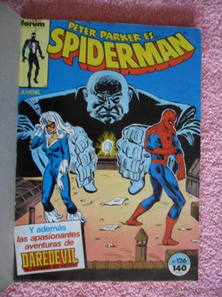 Cómics: peter parker es spiderman 126 127 128 129 130 ediciones forum 1983 vol 1 - Foto 2 - 49148069