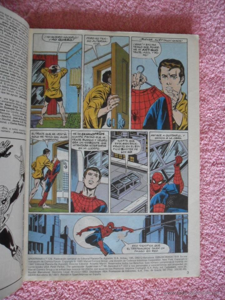 Cómics: peter parker es spiderman 126 127 128 129 130 ediciones forum 1983 vol 1 - Foto 3 - 49148069