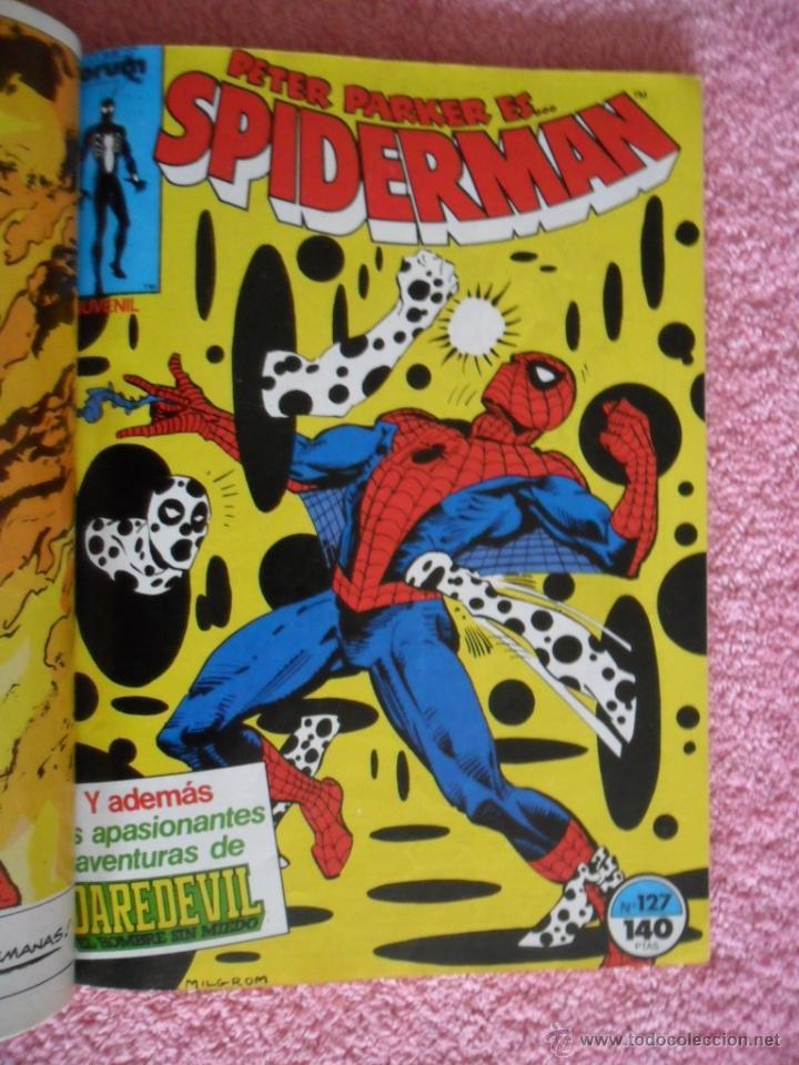 Cómics: peter parker es spiderman 126 127 128 129 130 ediciones forum 1983 vol 1 - Foto 4 - 49148069