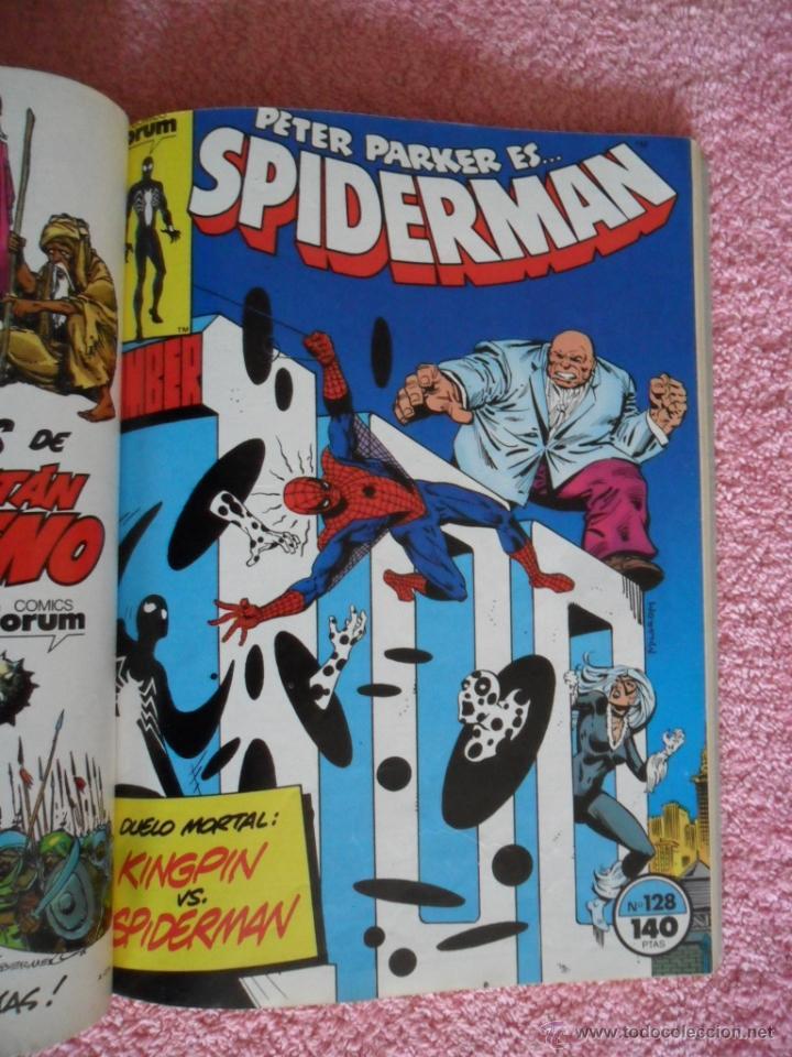 Cómics: peter parker es spiderman 126 127 128 129 130 ediciones forum 1983 vol 1 - Foto 6 - 49148069
