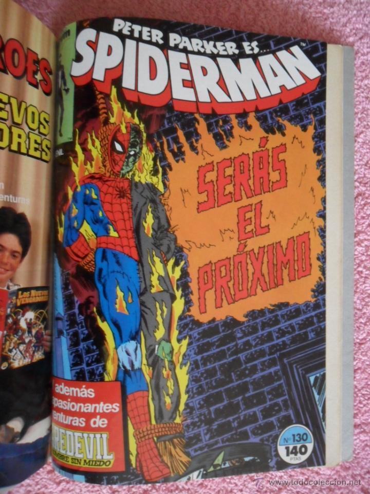 Cómics: peter parker es spiderman 126 127 128 129 130 ediciones forum 1983 vol 1 - Foto 10 - 49148069