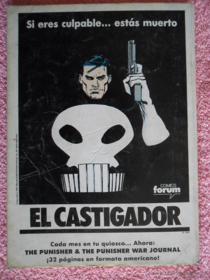 Cómics: peter parker es spiderman 126 127 128 129 130 ediciones forum 1983 vol 1 - Foto 13 - 49148069