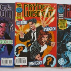 Cómics: PRYDE AND WISDOM 1 AL 3 COMPLETA. Lote 49162615