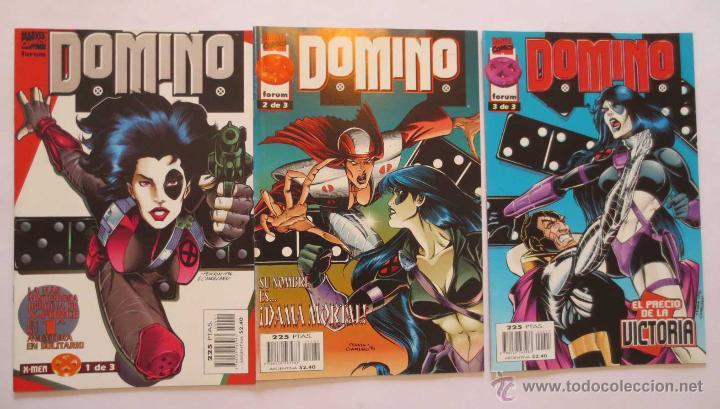 DOMINO 1 AL 3 COMPLETA FORUM (Tebeos y Comics - Forum - Nuevos Mutantes)