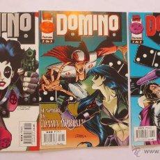 Cómics: DOMINO 1 AL 3 COMPLETA FORUM. Lote 49162911