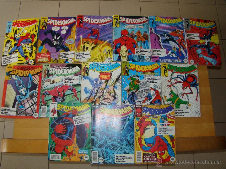 Cómics: Lote de 9 retapados de SPIDERMAN - Foto 2 - 135125390