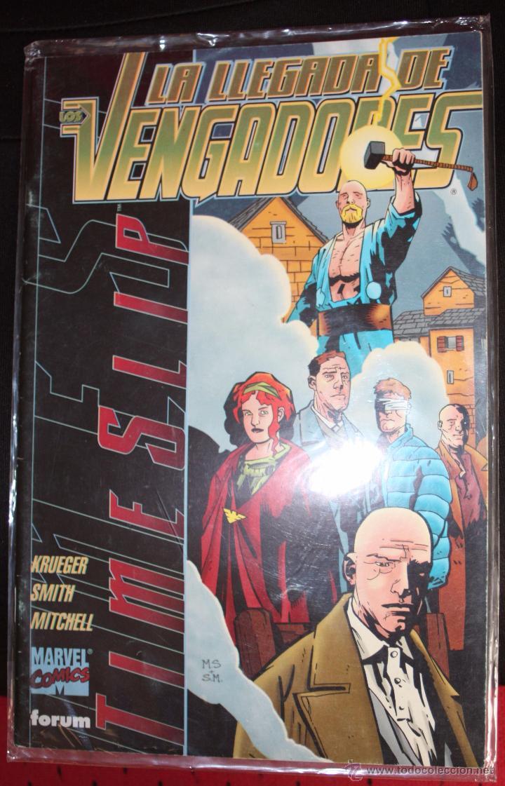TIMESLIP: LA LLEGADA DE LOS VENGADORES (ESPECIAL 48 PÁGS) FORUM. (Tebeos y Comics - Forum - Vengadores)