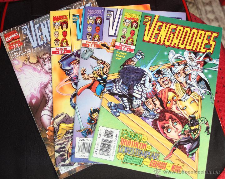 ¡LOTE OFERTA! LOS VENGADORES VOL3 ( HÉROES RETURN) Nº15,16,17 Y 72. (SUELTOS CONSULTAR) (Tebeos y Comics - Forum - Vengadores)
